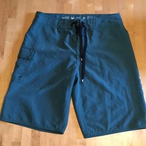 RVCA boardshorts, awesome color, gently worn